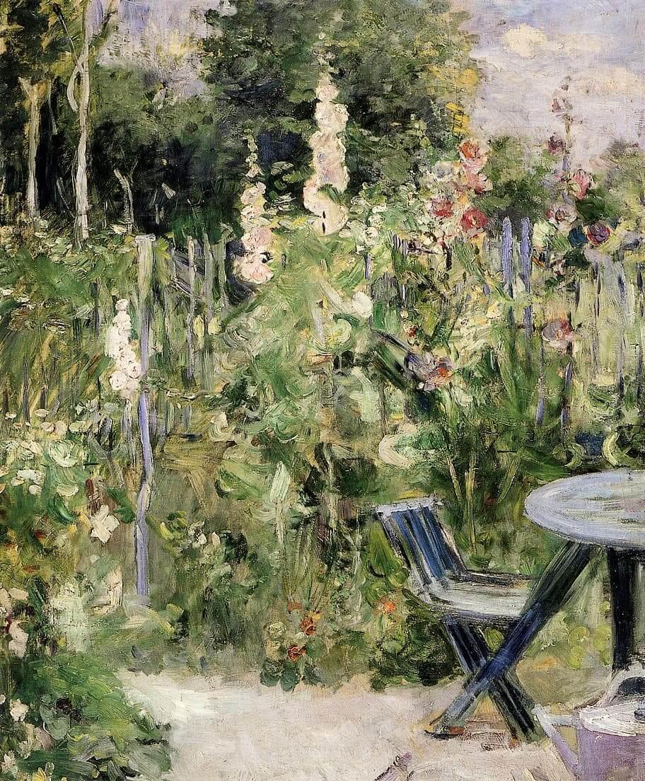 """Růže Tremieres"" od Berthe Morisot"
